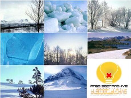 مجموعة من اوراق ال�ائط/Wallpapers للثلج والجليد عالية الدقة