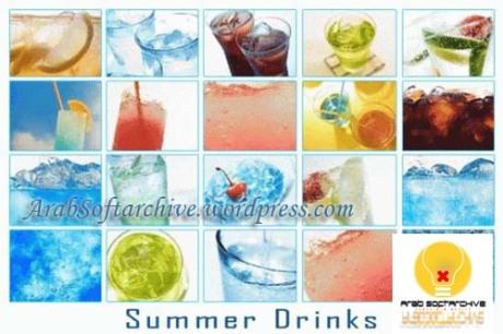 مجموعة من الصور للمشروبات الصيفية